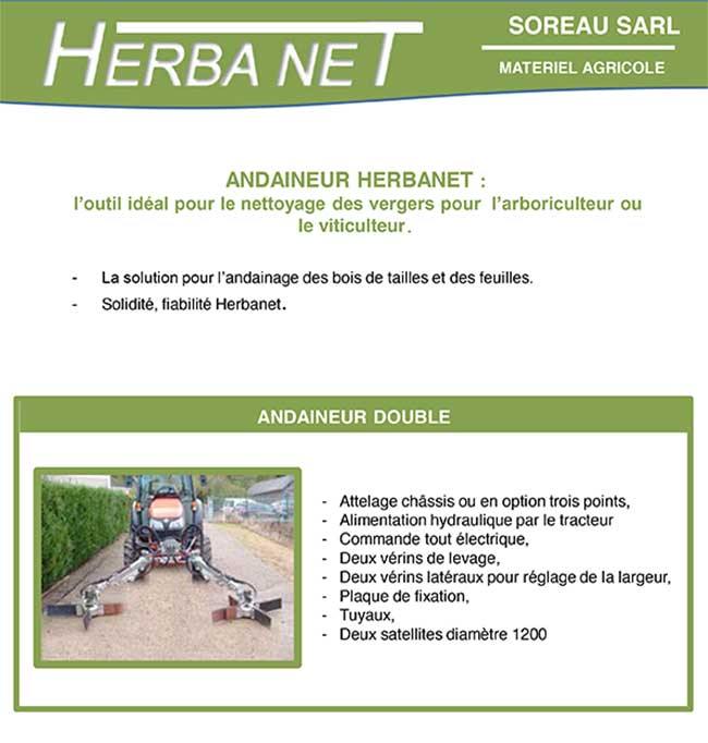 andaineur double herbanet